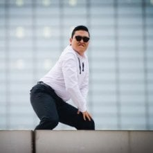 PSY nel periodo del successo di Gangnam Style