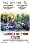 Qualcosa nell'aria: la locandina italiana del film