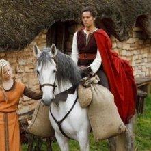 Merlin: Angel Coulby in una scena dell'episodio Momento della verità, della prima stagione