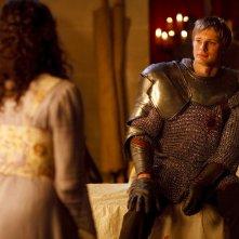 Merlin: Bradley James druante un momento dell'episodio La maledizione di Cornelius Sigan, della seconda stagione