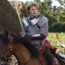 Merlin: Bradley James in una scena dell'episodio Momento della verità, della prima stagione