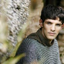 Merlin: Colin Morgan in una scena dell'episodio Momento della verità, della prima stagione
