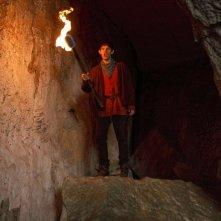 Merlin: Colin Morgan in una scena dell'episodio Uccidere il Re della prima stagione
