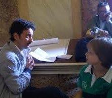 CHE DIO CI AIUTI: Gabriele Caprio in una scena