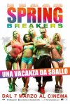 Spring Breakers: la locandina italiana del film