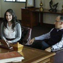 Switched at Birth; Bob Glouberman e Vanessa Marano nell'episodio The Door to Freedom, della seconda stagione