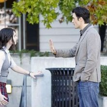 Switched at Birth; Gilles Marini e Vanessa Marano nell'episodio The Door to Freedom, della seconda stagione