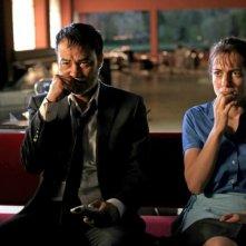 Simon Yam e Audrey Dana in Les jeux des nuages et de la pluie