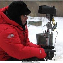 Educazione Siberiana: il regista Gabriele Salvatores durante la lavorazione del film