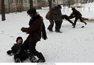 Educazione Siberiana: una sequenza del film di Salvatores