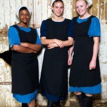 La mia vita con gli Amish: Charlotte Allison insieme ad altre due partecipanti al programma