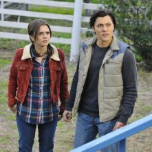 The Lying Game: Blair Redford e Alexandra Chando in una scena dell'episodio Reservation For Two