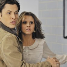 The Lying Game: Blair Redford e Alexandra Chando nell'episodio Dead Man Talking