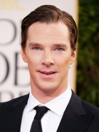 Benedict Cumberbatch sul red carpet dei Golden Globes 2013