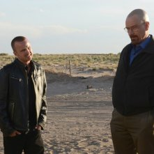 Breaking Bad: Aaron Paul e Bryan Cranston nell'episodio Say My Name