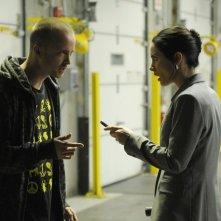 Breaking Bad: Aaron Paul e Laura Fraser in una scena dell'episodio Fifty-One
