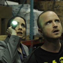Breaking Bad: Aaron Paul e Laura Fraser nell'episodio Fifty-One