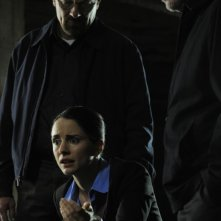 Breaking Bad: Bryan Cranston, Jonathan Banks e Laura Fraser nell'episodio Dead Freight