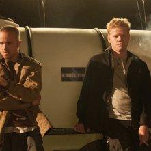 Breaking Bad: Jesse Plemons e Aaron Paul nell'episodio Buyout