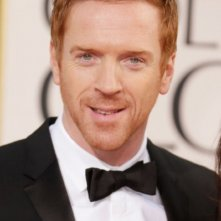 Damian Lewis sul red carpet dei Golden Globes 2013 per Homeland