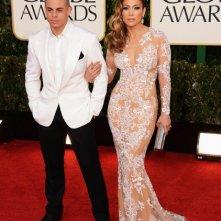 Golden Globes 2013: Jennifer Lopez con Casper Smart
