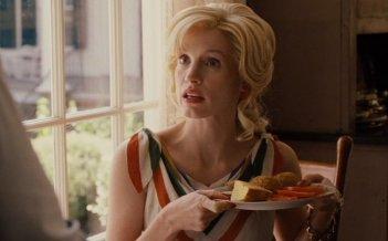 Jessica Chastain in una scena di The Help