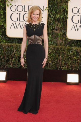 Nicole Kidman sul red carpet dei Golden Globes 2013