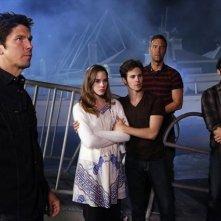 Revenge: Michael Trucco, Christa B. Allen, Connor Paolo, J.R. Bourne e Nick Wechsler nell'episodio Power della seconda stagione della serie