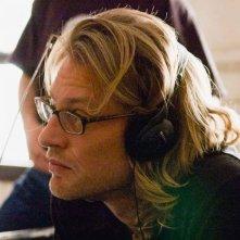 Andrew Dominik sul set