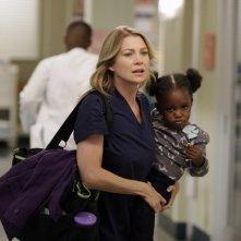 Grey's Anatomy: Ellen Pompeo nell'episodio Beautiful Doom, della nona stagione
