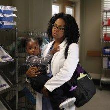 Grey's Anatomy: Jerrika Hinton nell'episodio Beautiful Doom, della nona stagione