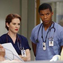 Grey's Anatomy: Richard Kahan, Sarah Drew e Gaius Charles nell'episodio Thigns We Said Today, della nona stagione