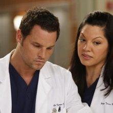 Grey's Anatomy: Sara Ramirez e Justin Chambers nell'episodio I Was Made for Lovin' You, della nona stagione