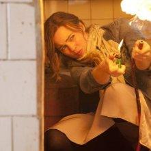 Hunted: Melissa George in una scena della serie televisiva