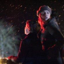 Melissa George in una scena dell'action serial Hunted