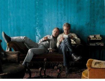 Fabrice Luchini e Lambert Wilson interpretano due attori in Alceste à bicyclette