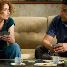Pauvre Richard: Elsa Lunghini e Smaïn in una scena della commedia