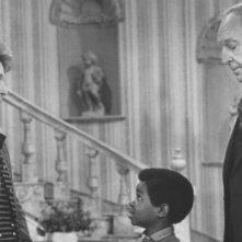 Gary Coleman con Conrad Bain e Nancy Reagan nella decima puntata della terza stagione di Arnold, 'Conta le tue pulsazioni'