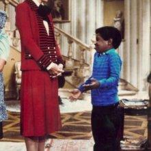 Gary Coleman con Nancy Reagan nella decima puntata della terza stagione di Arnold, 'Conta le tue pulsazioni'