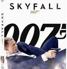 La copertina di Skyfall (blu-ray)