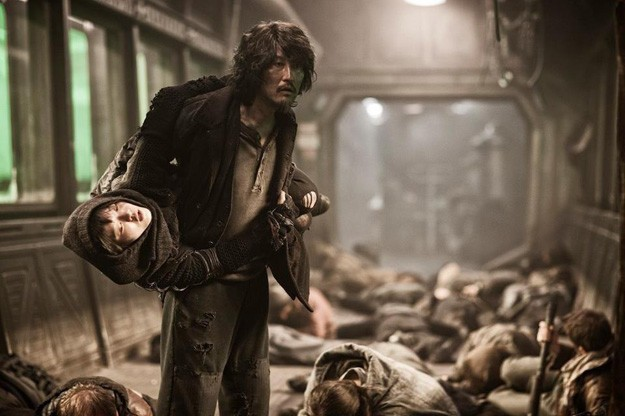 Snow Piercer: Song Kang-ho in una drammatica immagine