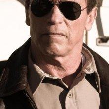 The Last Stand - L'ultima sfida: Arnold Schwarzenegger nei panni dello sceriffo Ray Owens in una scena del film