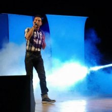 Emanuele Manes sul palco