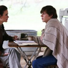 American Horror Story - Asylum, episodio finale: Sarah Paulson ed Evan Peters in 'Madness Ends'