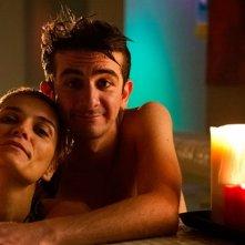 Francesco Mandelli con Claudia Zanella nella commedia Pazze di me
