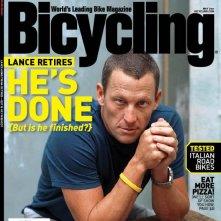 Lance Armstrong sulla cover di un magazine
