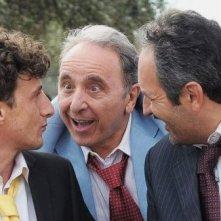 Ernesto Mahieux e Antonio Andrisani. in Una domenica notte con Alfio Sorbello