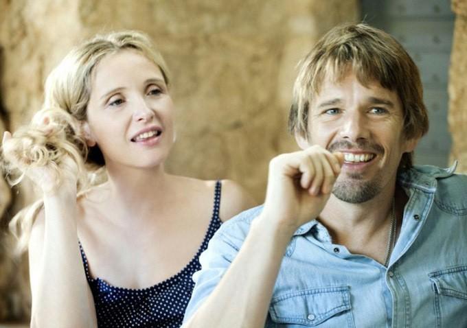 Ethan Hawke E Julie Delpy Sorridenti In Una Scena Di Before Midnight 263612