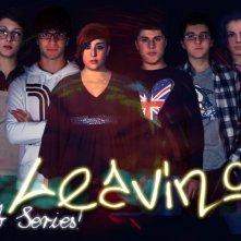 Leaving The Web Series: un poster con sviluppo orizzontale della serie web