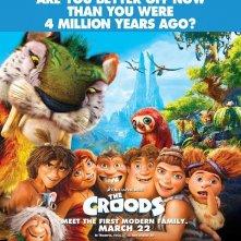 The Croods: un nuovo poster del lungometraggio animato